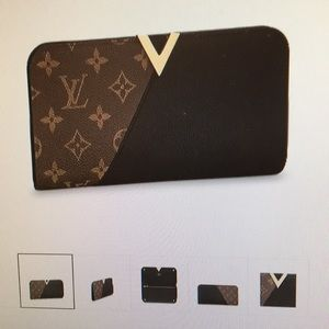 Louis Vuitton Kimono wallet Monogram black canvas